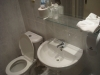 Umývadlo, záchod hotel lux