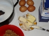 príprava na oblatkové rezy s orechovou plnkou