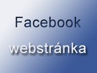 Facebook stránky . pre niekoho maličkosť, pre mňa to maličkosť