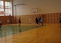 futbalový turnaj v telecvični