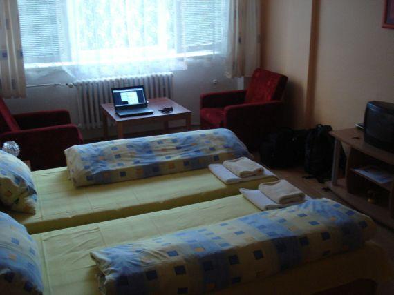 Izba v hoteli Komárov Brno