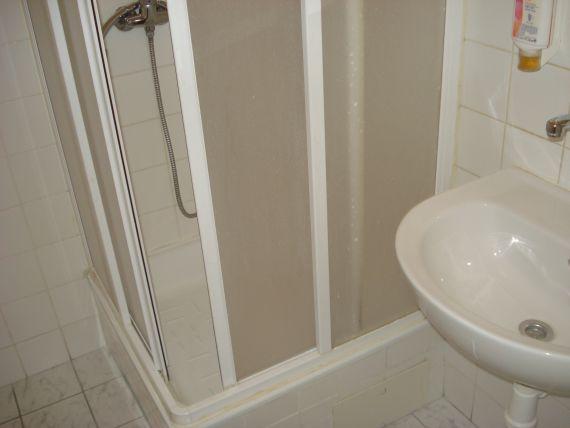 kúpelňa v hoteli Komárov Brno