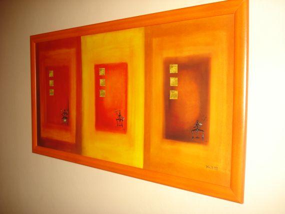 obraz v izbe - hotel Komárov Brno