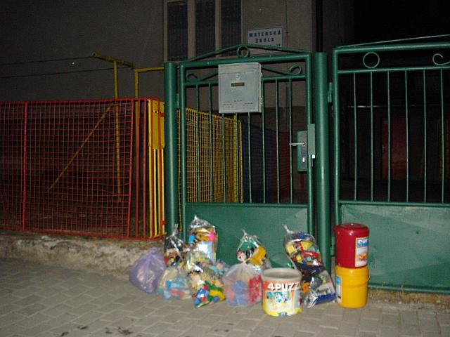 materská škola a hračky